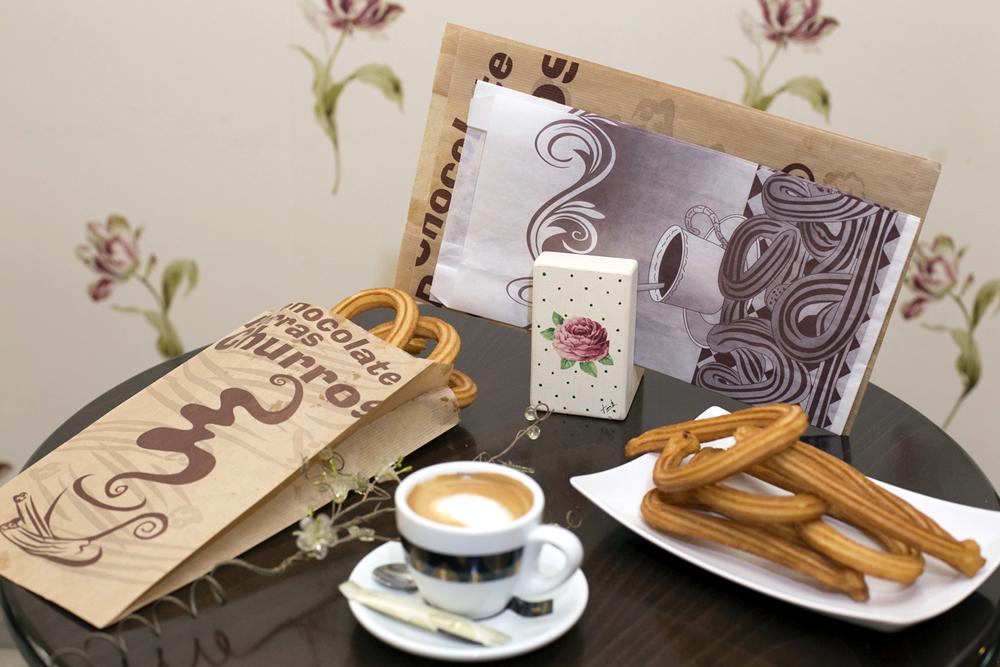 439e876c8 Bolsas de papel para churros y buñuelos - Impresos y Manipulados Sanchis