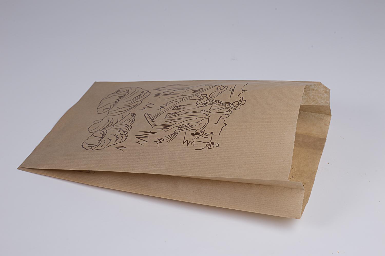 Bolsas de papel sin asas