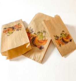 bolsas de papel para frutas